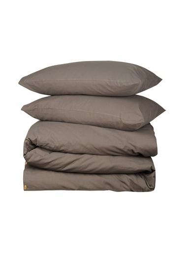 Hibboux 200x220 Vogue Yıkamalı Nevresim + Yastık Kılıfı - Gray Gri